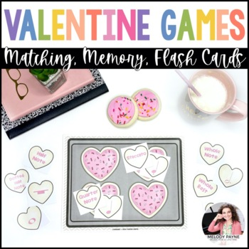 Heart to Heart Music Match: Valentine's Day Cookie & Music