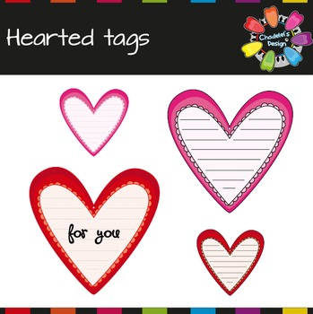 Hearted Tags