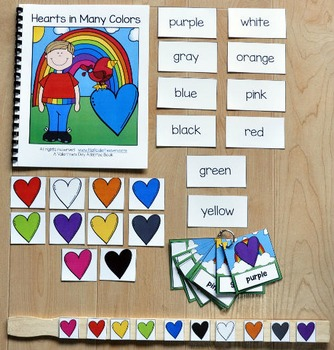"""Valentine's Day Adapted Book and Vocabulary Activities: """"H"""