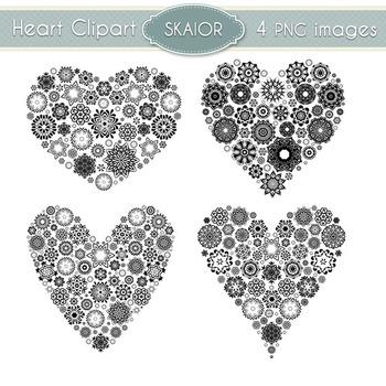 Hearts Clipart Heart Clip Art Love Scrapbooking Wedding In