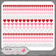 Hearts Galore Page Borders 5 - Art by Leah Rae Clip Art &