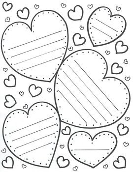Hearts! Hearts! with lines