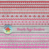 Hearts Page Dividers