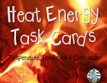 Heat Energy Task Cards