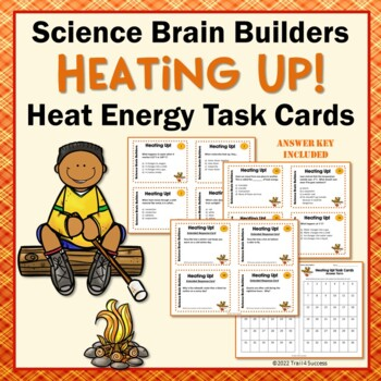 Heat Energy Task Cards - 40 Science Cards in All
