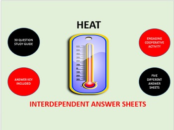 Heat:  Interdependent Answer Sheets Activity