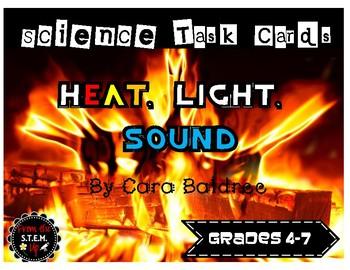 Heat, Light, & Sound Task Cards