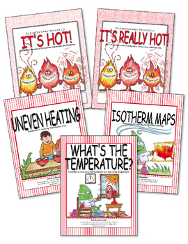 Heat, Temperature, Thermometers, Isotherm Maps  ♥BUNDLE♥