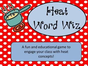 Heat Word Wiz **Similar to the popular game Catch Phrase!**