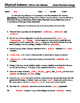 Heat and Thermal Energy - Worksheet - Fill in the Blank