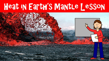The Earth's Mantle No Prep Lesson w/ Power Point, Workshee