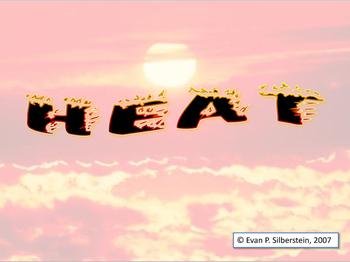 Heat - q = m C ΔT
