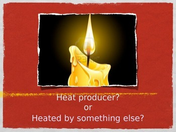 Heat sources