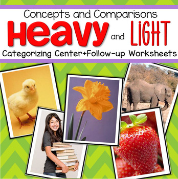 Heavy and Light Center and Worksheets