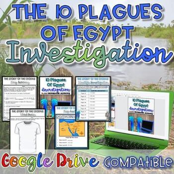 10 Deadly Plagues Activity