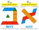 Hebrew Alef Bet Pattern Block Templates