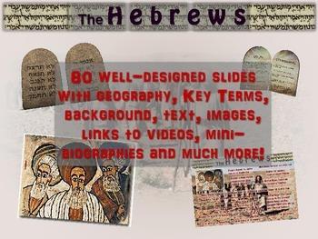 EPIC Hebrews Unit: 4 PPTs, 80 slides, 6 handouts, days of