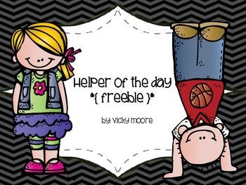Helper of the Day  * { Freebie } *