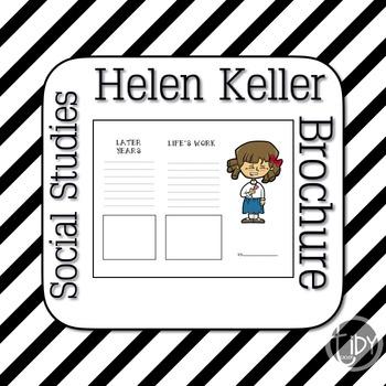 Helen Keller Brochure