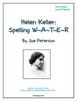 Helen Keller:  Spelling W-A-T-E-R