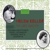 Helen Keller Vocabulary Power Point