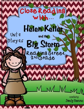 Helen Keller and the Big Storm Close Reading 2nd Reading S