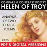 Helen of Troy, Compare & Contrast Two Texts, CCSS-aligned