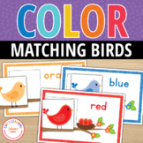 Color Match Activity: Spring Bird Color Match