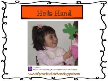 Hello Hand-Name Badge
