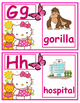 Hello Kitty Alphabet
