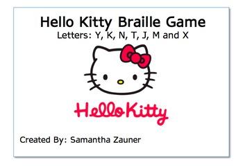 Hello Kitty Braille Game