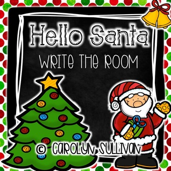 Hello Santa! Write The Room