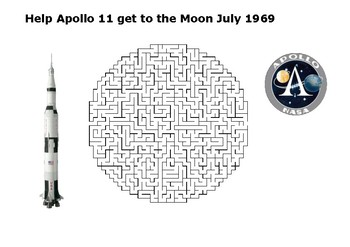 Help Apollo 11 get to the Moon Puzzle