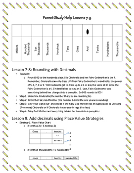 Help Guide-Engage NY Module 1 Lessons 7-9 (Decimals)