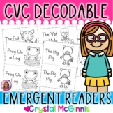 CVC Word Decodable Stories (12 CVC Word Decodable Books fo