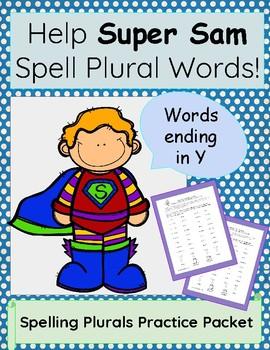 Spelling Plurals: Words Ending in Y
