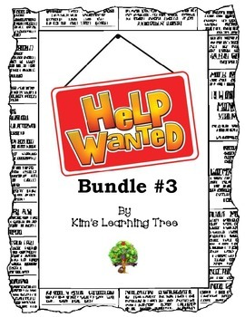 Help Wanted: Inquire Within  BUNDLE #3