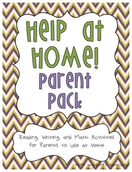 Help at Home Parent Pack