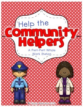 Help the Community Helpers! A DIFFERENTIATED Part-Part-Who