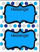 Helper Chart Signs-job posters for up to 10 helpers! Polka
