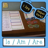 Helper Verbs Is Am Are