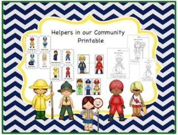 Helpers in the Community Printable 2