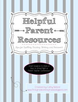 Helpful Parent Resources