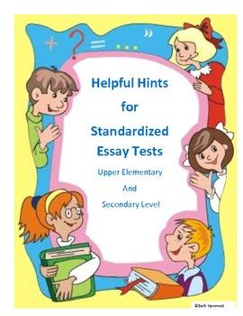 Helpful Tips for Standardized Essay Testing