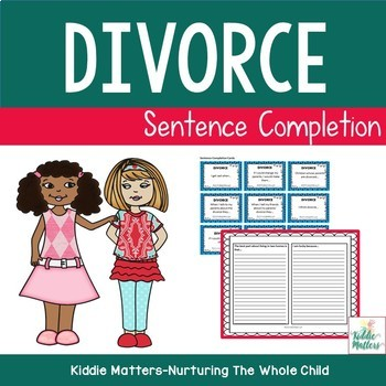 Divorce Sentence Completion Activity