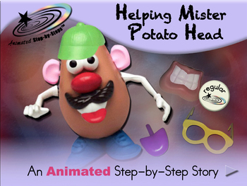 Helping Mister Potato Head - Animated Step-by-Step Story