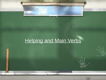 Helping Verbs PowerPoint