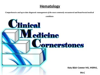 Hematology Conditions, Diagnosis and Treatment Nursing Medical PA