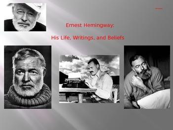 Hemingway: Biography - Essential Journal Questions