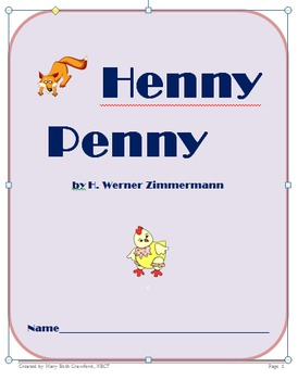 Henny Penny {Comprehension and Skills Packet} Folktale
